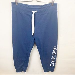 Calvin Klein Performance l Woman's Blue Sweatpants